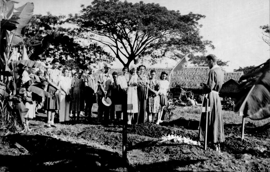 Memorial Service at STIC-1945