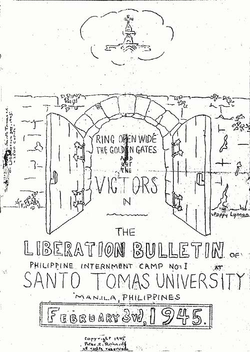 STIC LIberation Bulletin cover Feb 3rd, 1945