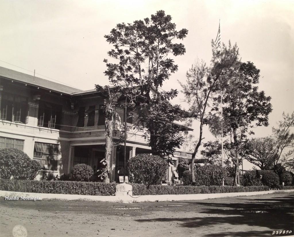 Wack Wack Main Entrance-1946