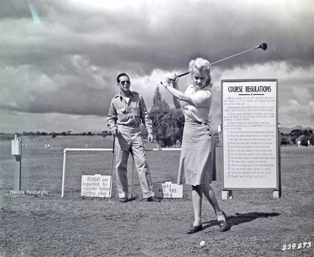 Golf wasn't just a man's game.