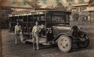 Autobus of the 1930s