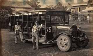 Autobus of the 1930s