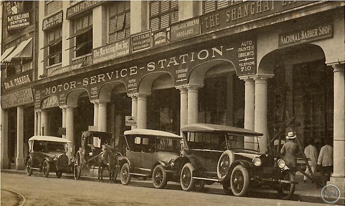 Avenida Rizal-Kneedler Bldg -1920