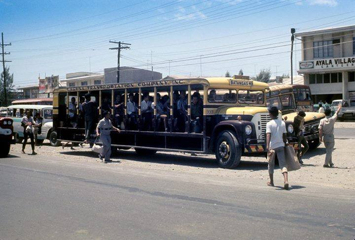 Laguna open one-sided bus-1960s