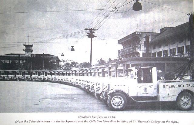 Meralco Bus Fleet-1930