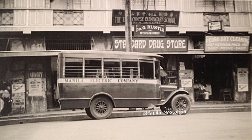 Meralco Bus on Herran-1929