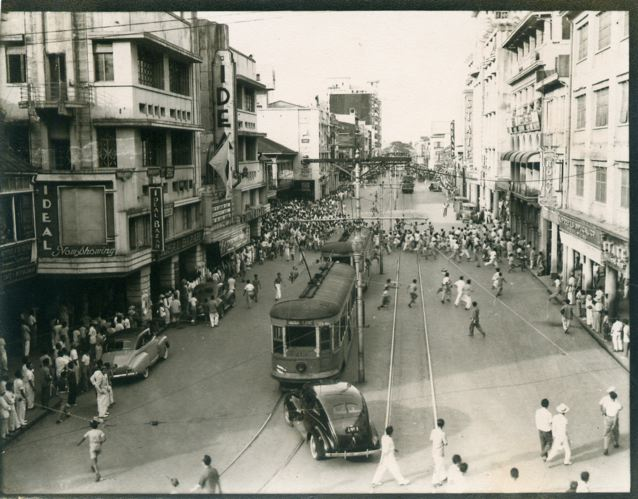 Rizal Avenue during the Japanese occupation.
