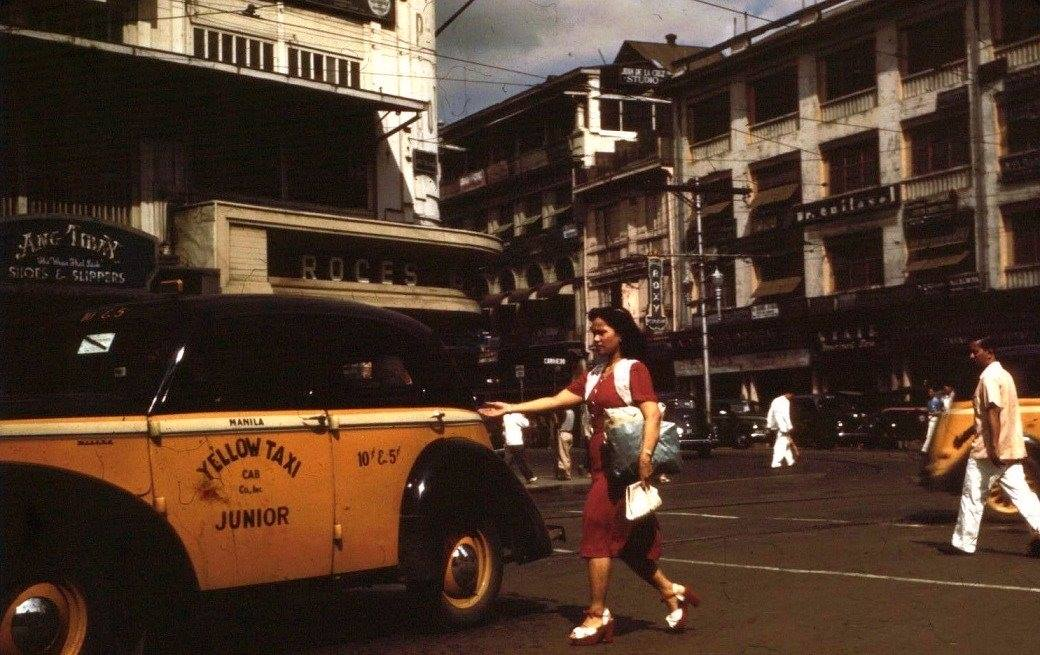 Yellow Taxi Junior Plaza Goiti 1940