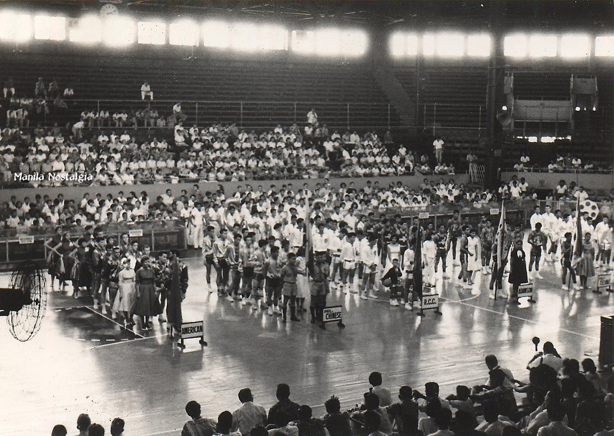 1961 MAASS Basketball Ceremonies