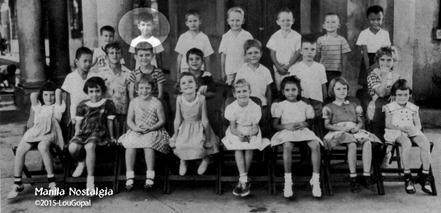 My first grade class-1952.