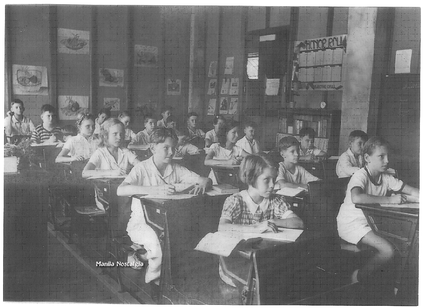 6th Grade class -1939 (courtesy E. Krohn)