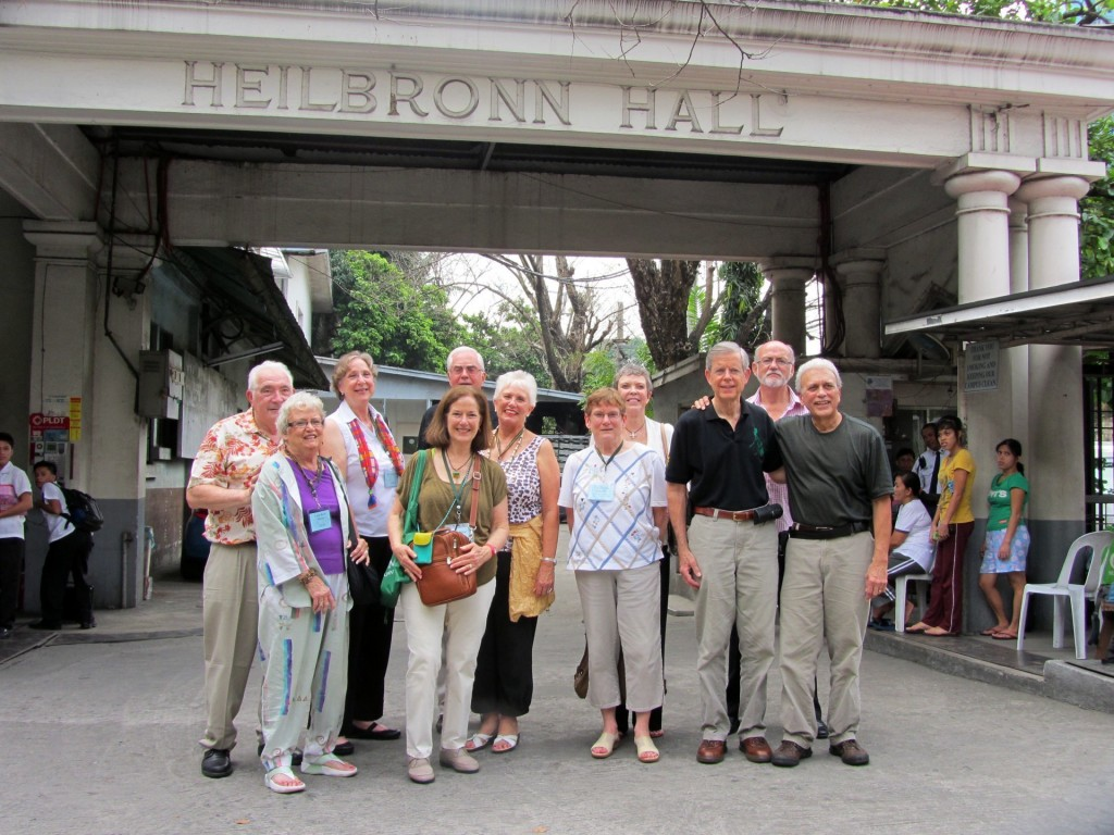 Manila 2012 reunion-Heilbronn Hall (courtesy S. Farquhar)