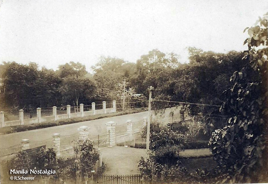 Otto Scheerer compound alongside Taft Ave. (courtesy R. Scheerer)