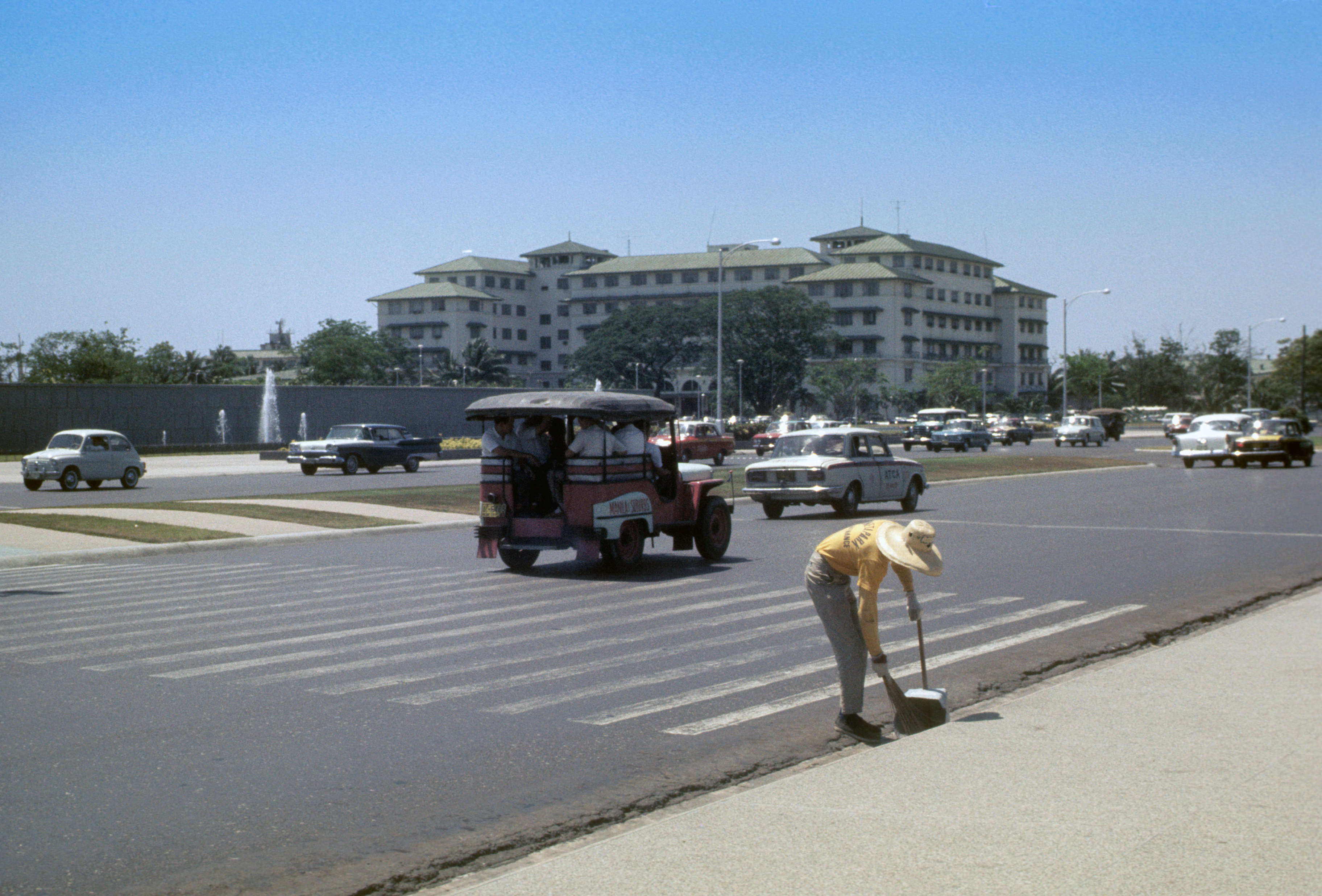The Manila Hotel -1965.