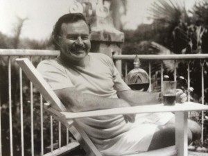Ernest Hemingway at the Manila Hotel