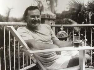 Ernest Hemingway at the Manila Hotel