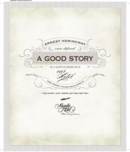Hemingway's visit story