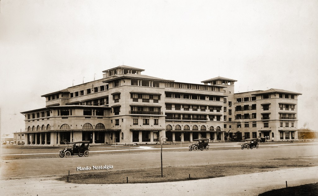 The new Manila Hotel, c.1915