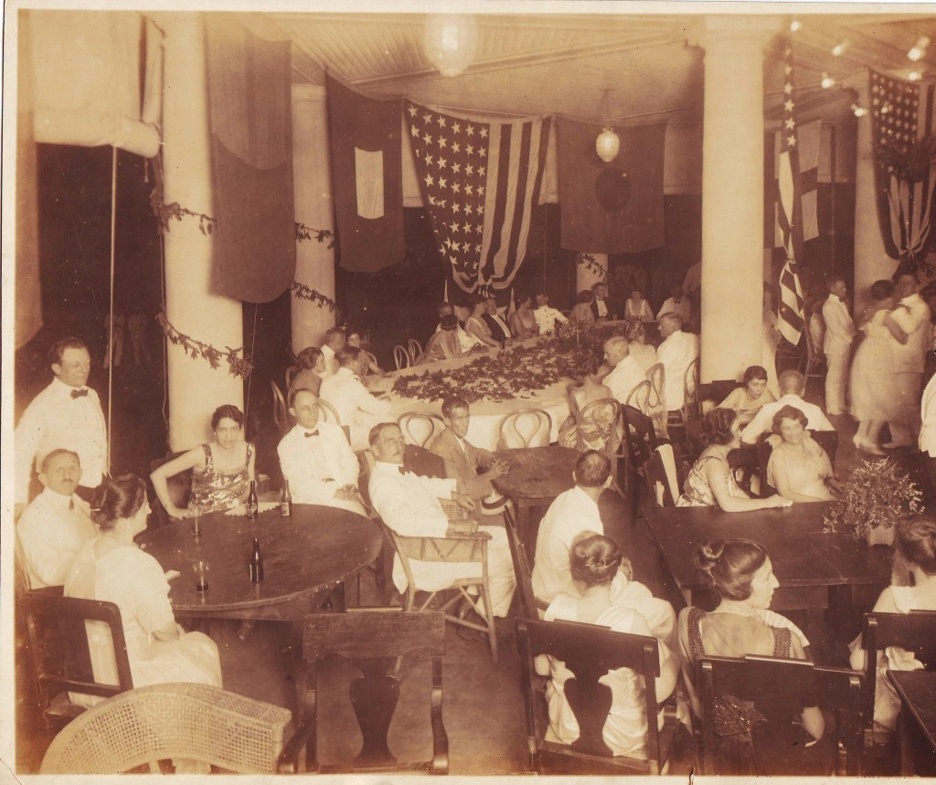 Party thrown by the Butlers in October 24, 1921 (courtesy of A. Butler)