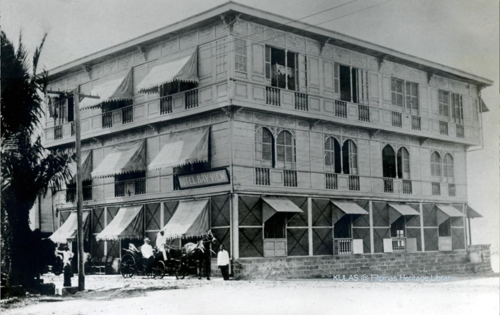 Original Bayview Hotel-1903 (courtesy of N. Torrentegui)