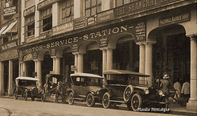 Kneedler Bldg on Avenida Rizal -1920