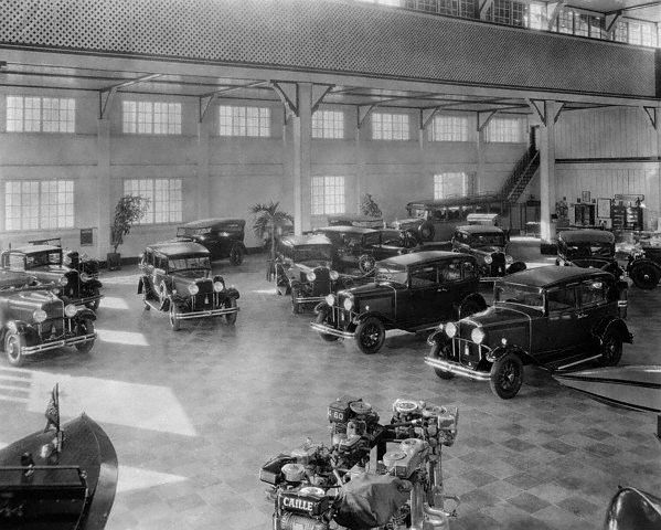 Showroom at Bachrach Motor Company