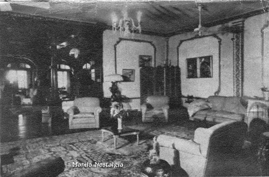 Casa Blanca music room.