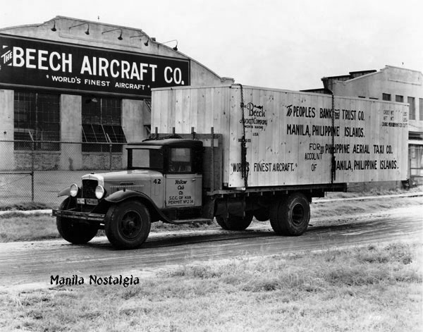 Beech Aircraft delivery for PATCO.