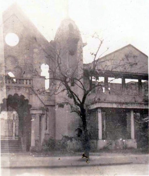 Temple Emil destroyed-1945 (courtesy N. Torrontegui)