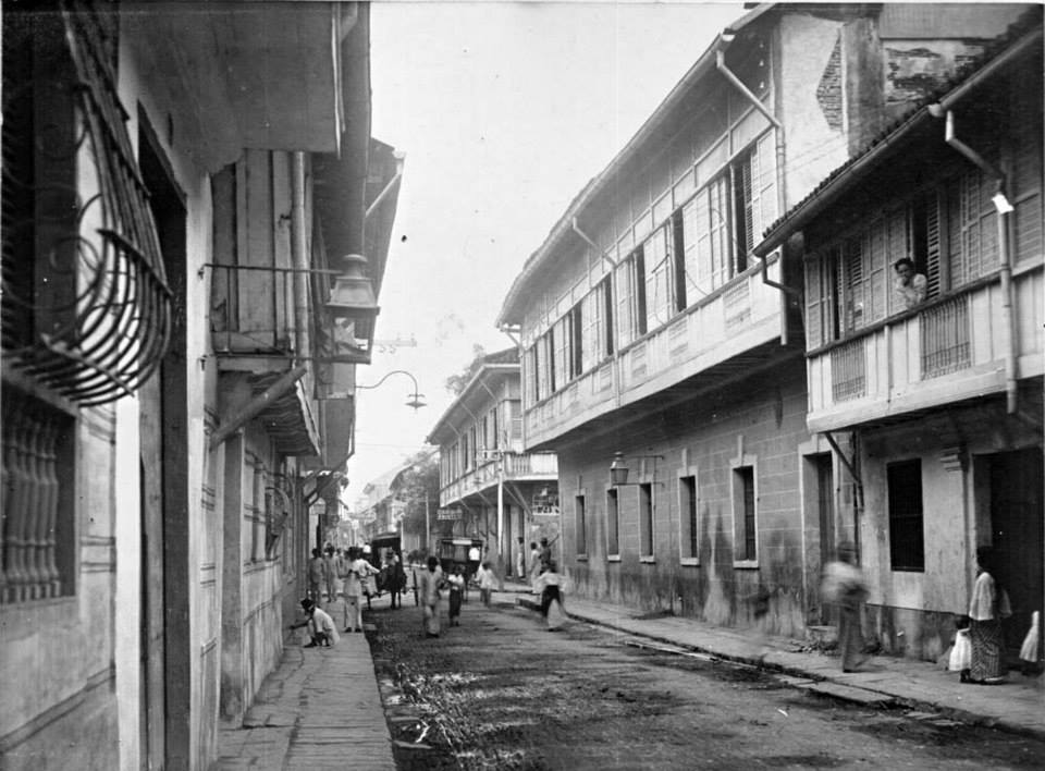 Calle Palacio-1890s