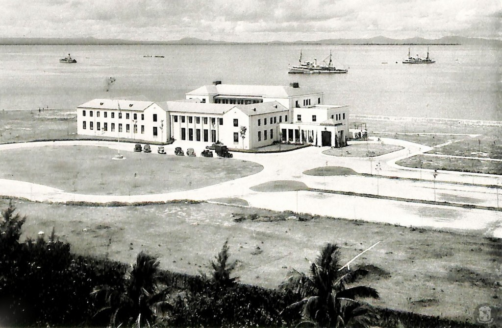 High Commissioner's office-1940 (courtesy Presidential Museum and Library)