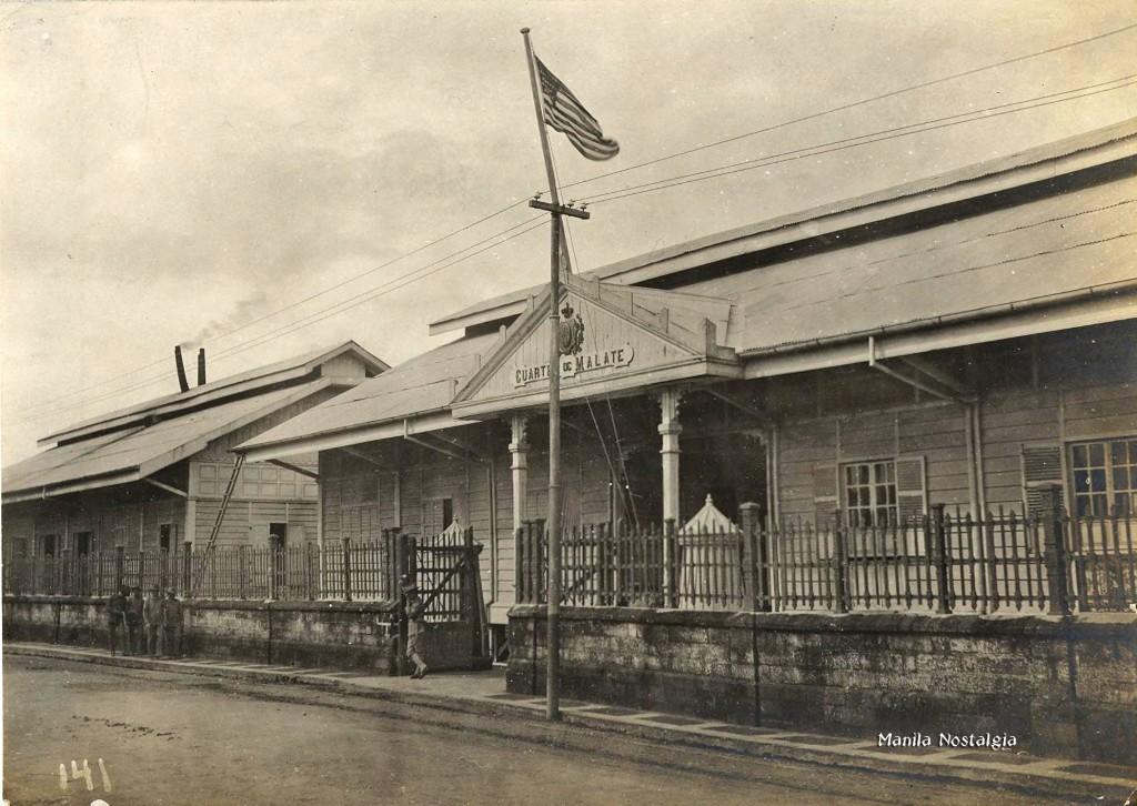Cuartel de Malate-1900