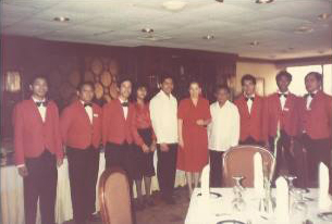 Galloway, mgr.and staff-Elks Makati