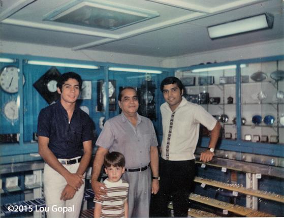 Choith, Kumar, Manu & Ron-1969