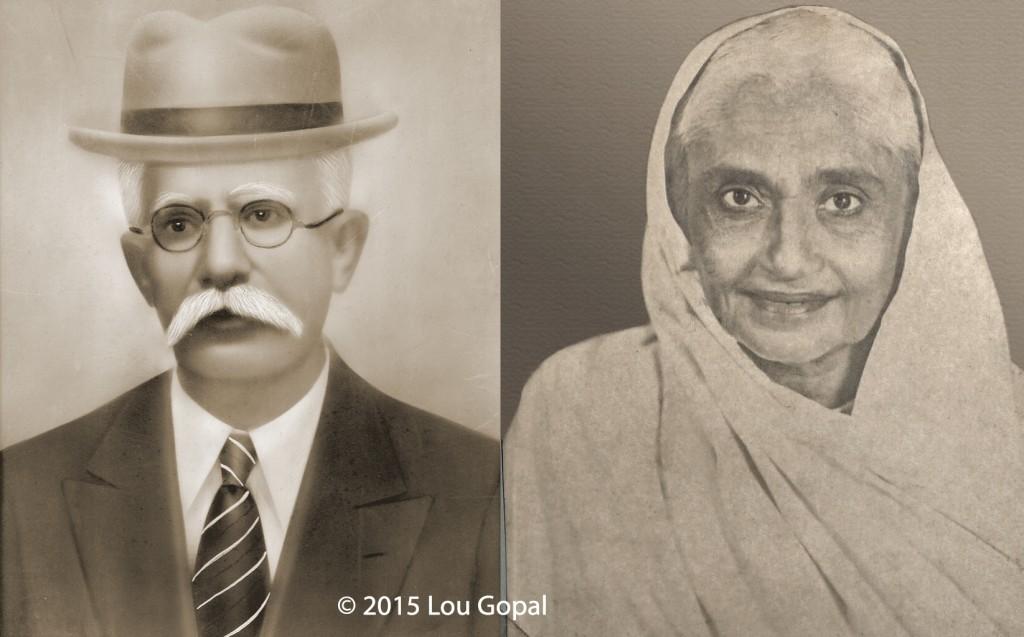 Fatehchand and Parpatibai Khanchandani