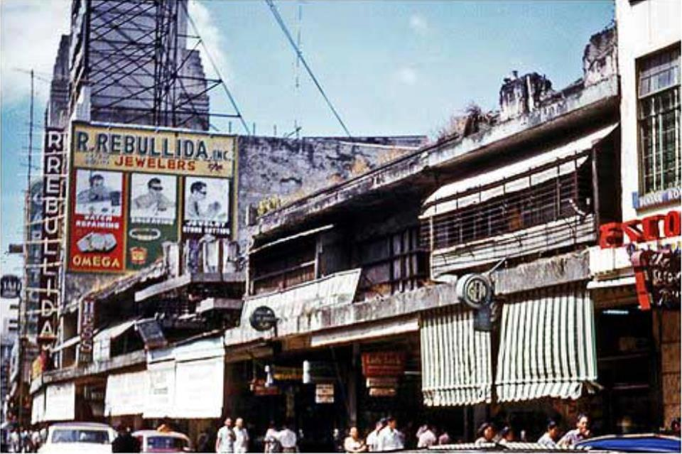 Gem Gift Shop on Escolta-1952