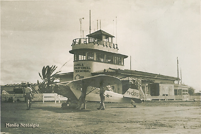 Manila Intl Airport 1930s-logo
