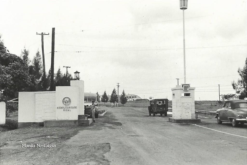 Nichols AF entrance-1950s
