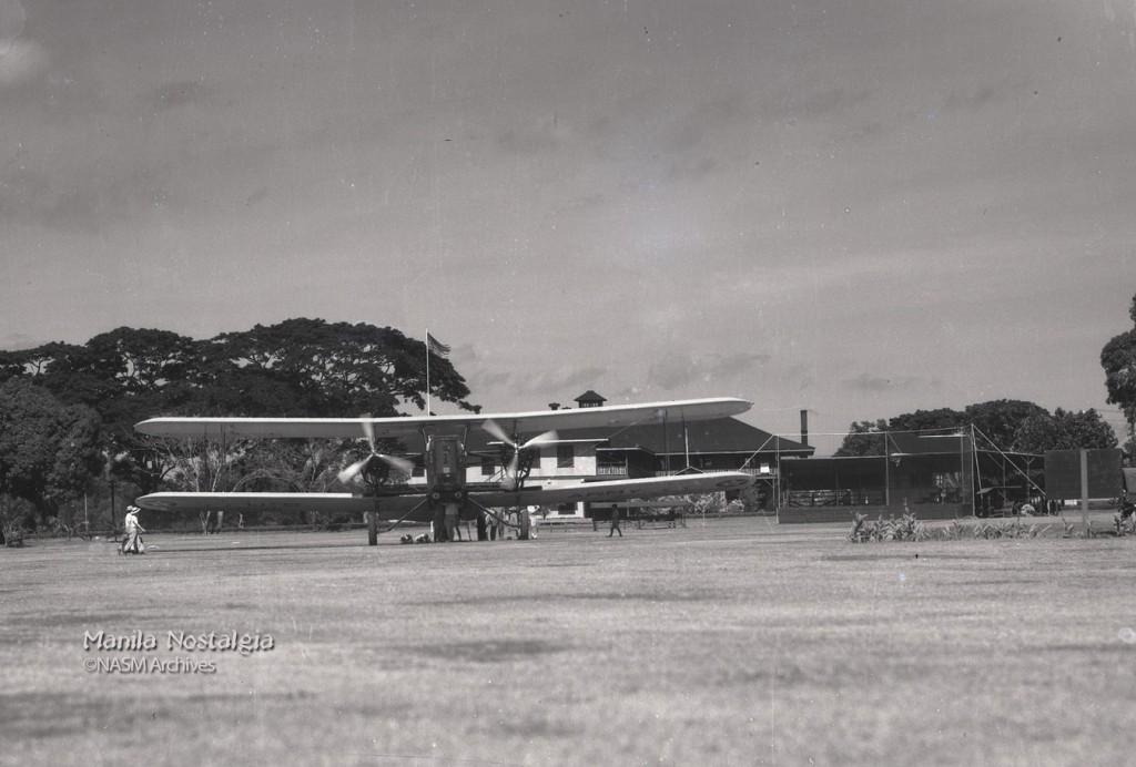 Nichols Field B-3A Martin Bomber 1938.