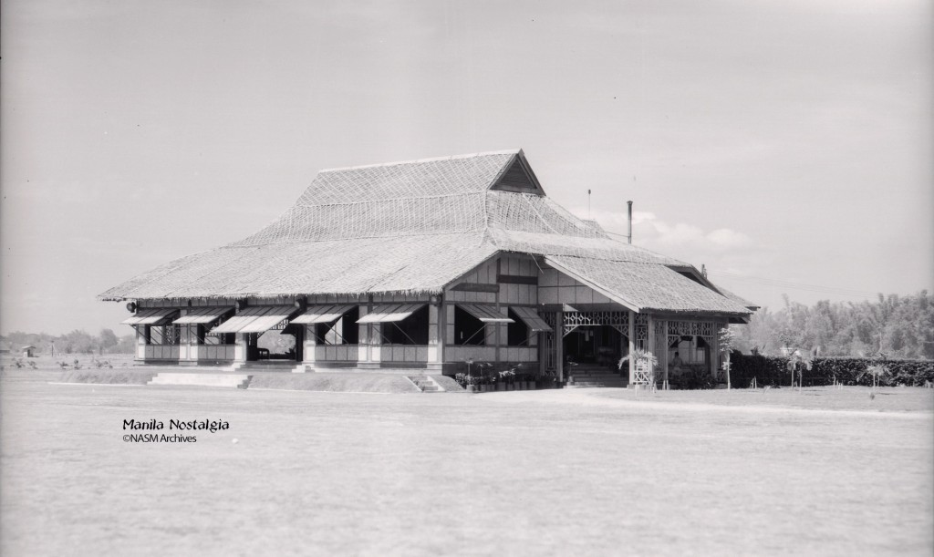 Officers Club (Cariboo Club) at Nichols Field, PI.  1938.
