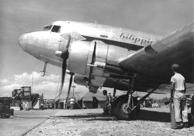PAL-C47A-35DL at Nichols Field, 1946